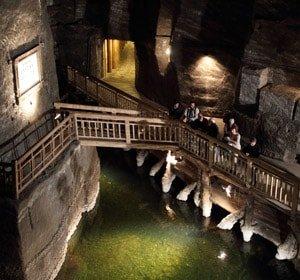 Salt Mines<span>The Subterranean Wonder of Weliczka</span>